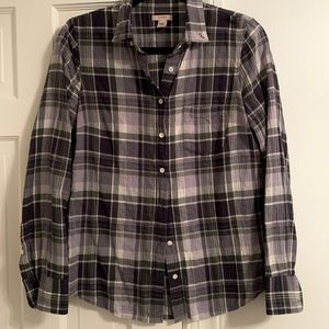 Jcrew flannel, size 4